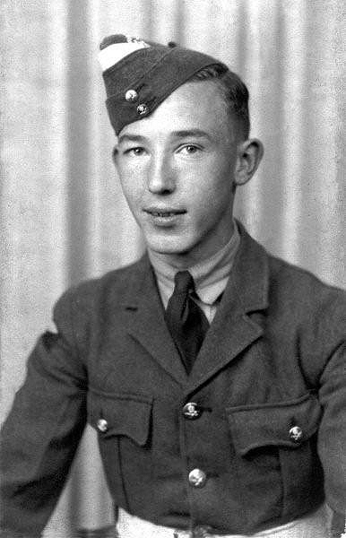 Andrew Brown, A Stirling Pilot  -  Library Ref. 106