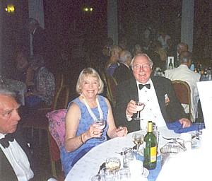 Saltire Branch member Colin Cowan and wife Vicky at Saturday Banquet